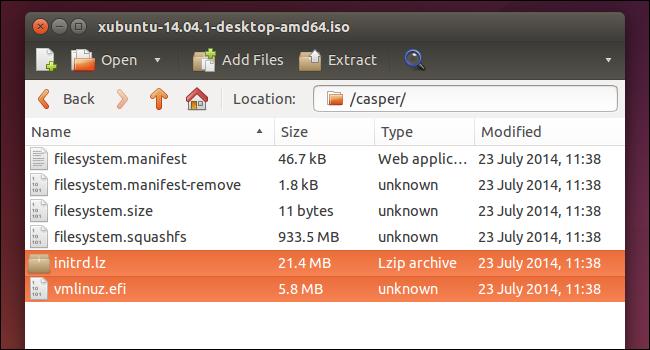 Исследование содержимого файла формата ISO