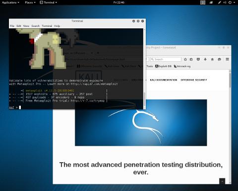 Линукс кали библиотеку для