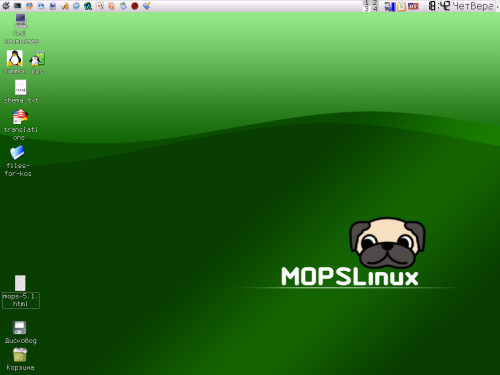 MOPS Linux 6.2  › Торрент