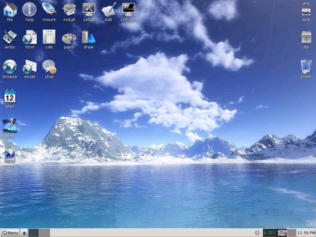 Какое небо голубое 3d обои для рабочего стола компьютера.