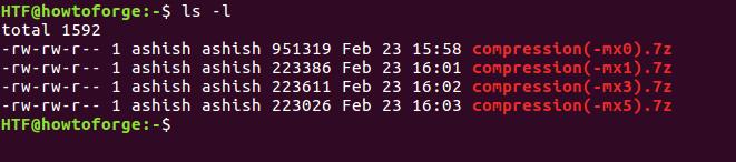 Полезные параметры архиватора 7zip - часть 1