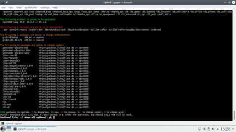 Обзор дистрибутива openSUSE Leap 15 1