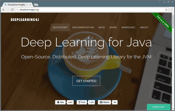 Deep Learning For Java